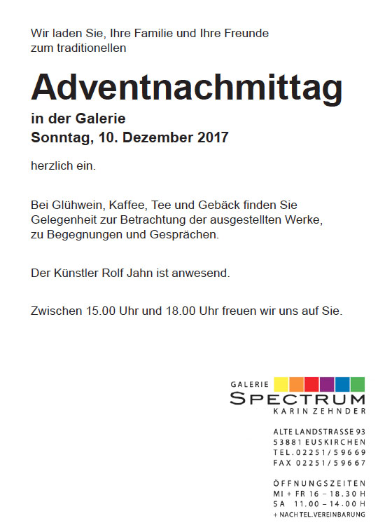 adventnachmittag kompl