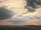Abendlandschaft, 2015, Öl auf Leinwand, 115 x 225 cm