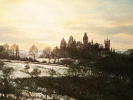 Schloss Drachenburg,2021,Öl auf Leinwand,40x50