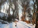Wintermorgen am Berg, Öl auf Leinwand, 60 x 60cm